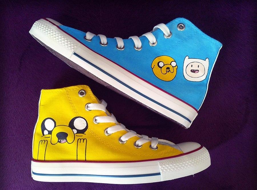 Ботинки ❤ Adventure Time