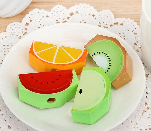 Сочные точилки в виде фруктов