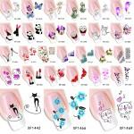 Милые стикеры для ногтей