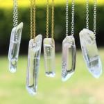 Кварцевый кристалл кулон