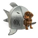 Домик для домашних животных в виде акулы