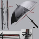 Зонт в виде самурайского меча