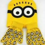 Шапочка и перчатки в стиле «Миньонов»
