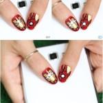 Диодные наклейки на ногти