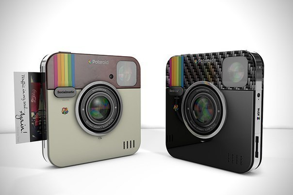Фотоаппарат Instagram Polaroid Socialmatic Camera