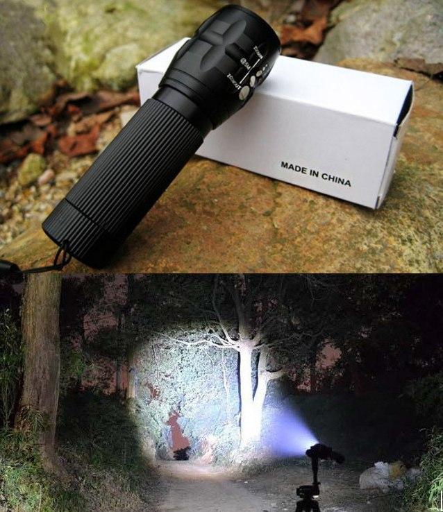 Туристический фонарик