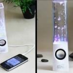 Bluetooth-колонки с брызгами воды