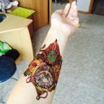 Временная татуировка