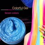 Цветной гель для укладки волос