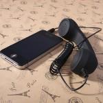 Ретро трубка для смартфонов