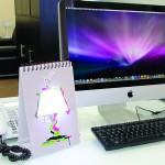 Лампа Блокнот это необычный LED светильник