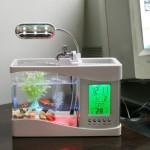 Настольный мини USB аквариум для рыбок