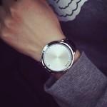Красивые часы с подсветкой вместо стрелок