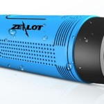 Водонепроницаемая колонка + фонарь + картридер + зарядка для телефона