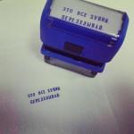Собственная печать по вашему макету/эскизу/тексту