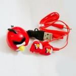 MP3-плеер с наушниками Angry Birds