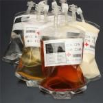 Пакет крови для напитков
