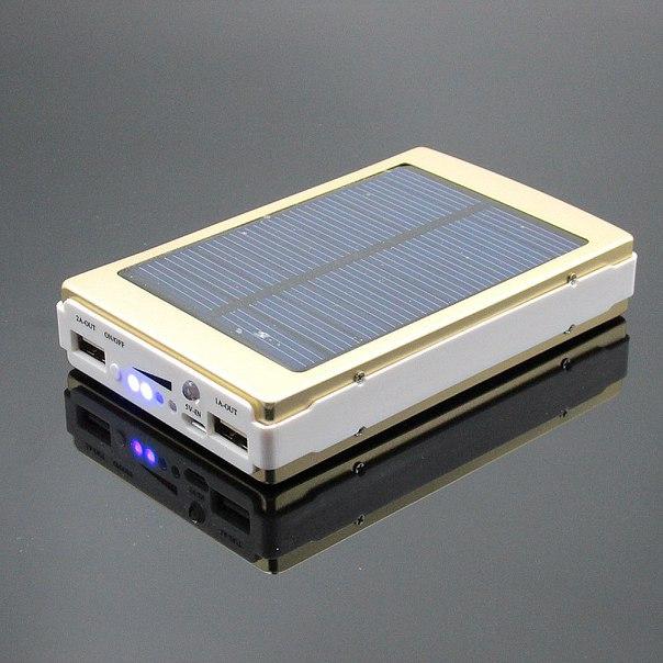 Внешний аккумулятор на солнечной энергии