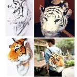 Рюкзак в виде головы тигра