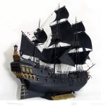 Сборная модель парусника из фильмаПираты карибского моря