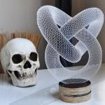 Арт-деко 3D лампа