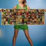Большой плакат со мстителями