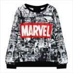 Свитшот с комиксами Marvel
