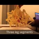 Strandbeest шагающий пластмассовый монстр художника Тео Янсена