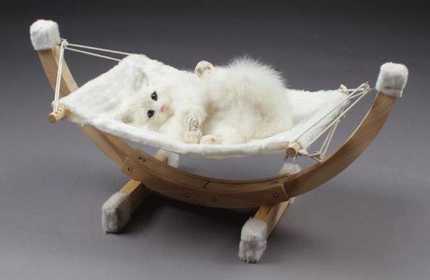 Кроватка-гамак для котика