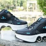 Стильные кроссовки на роликах