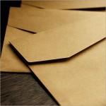 Винтажные крафт-конверты высокого качества