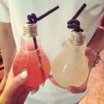 Бутылочки в виде ламп