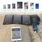 Переносная солнечная панель для зарядки ваших смартфонов
