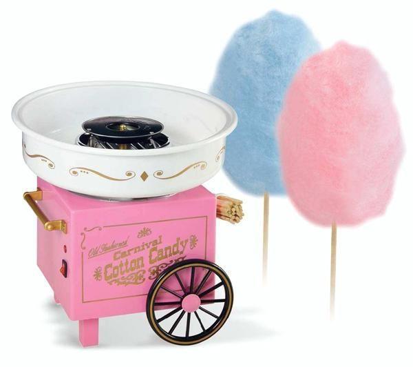 Мини-машинка для приготовления сладкой ваты