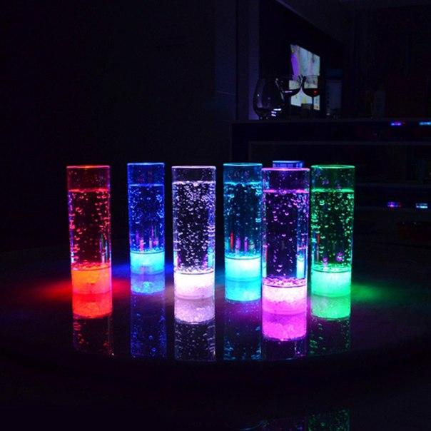 Офигенный стакан с подсветкой